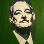 Painting of Bill Murray